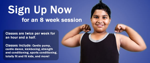 Sign up now for an 8 week session.