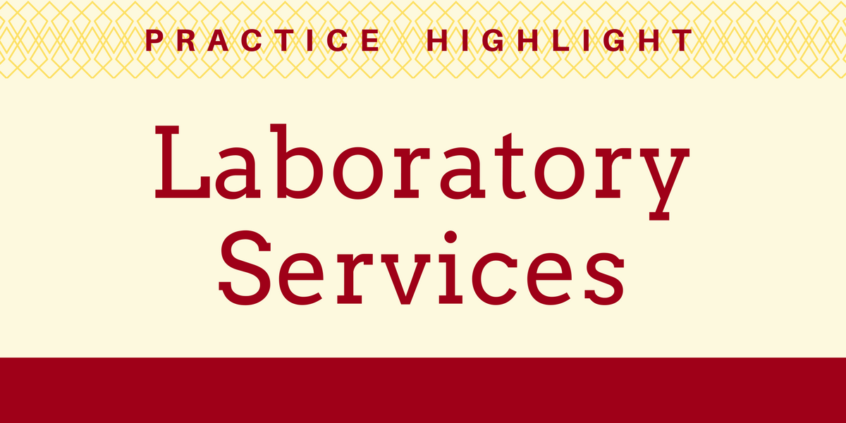 Practice Highlight - Laboratory Services