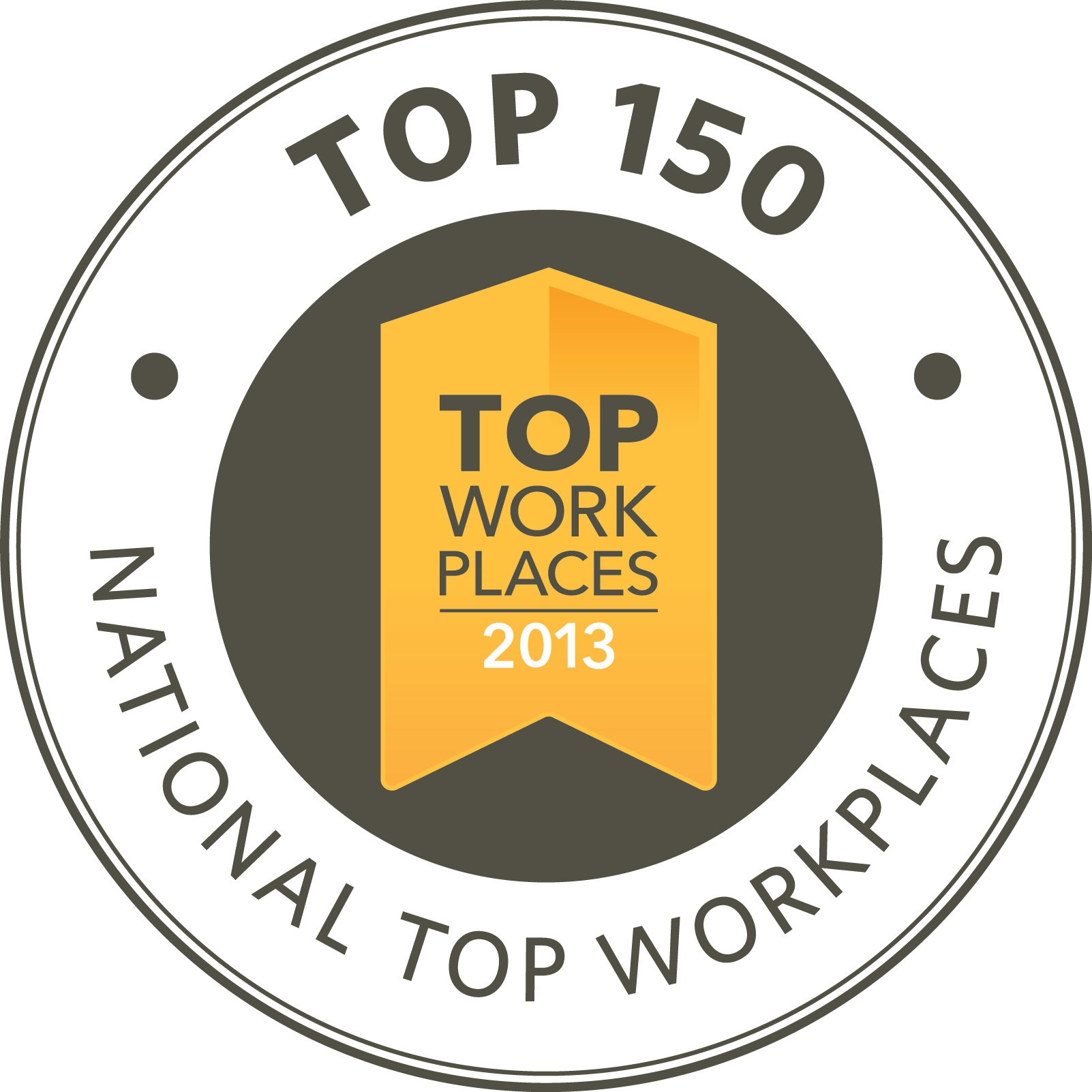 2013 Top Work Places National