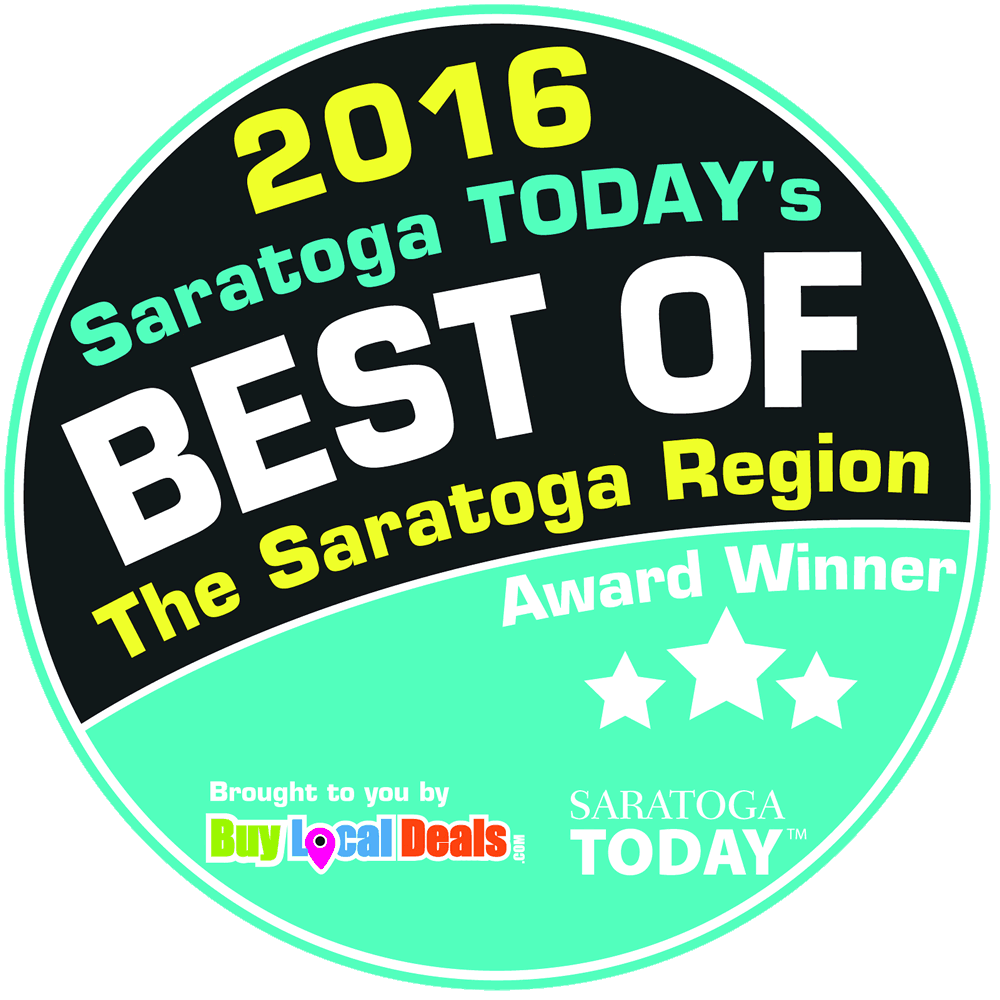 2016 Best of Saratoga Region award.